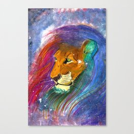The Night's Soul Canvas Print