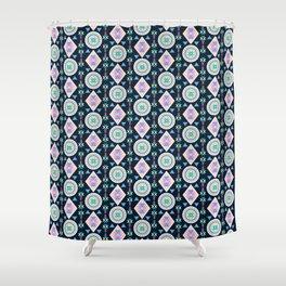 Dancing Diamonds By Everett Co Shower Curtain
