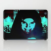 scary iPad Cases featuring Scary Man by Jussi Lovewell
