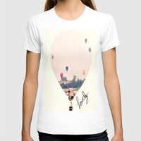 balloons T-shirts featuring Balloons  by Bê Machado