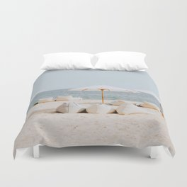 summer beach ii Duvet Cover