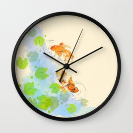 The Golden Pond Wall Clock