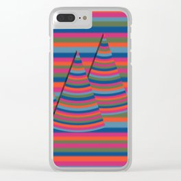 Spring peaks Clear iPhone Case