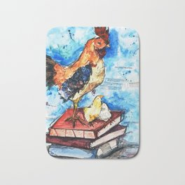 Zodiac - Year of the Rooster Bath Mat