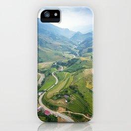 Vietnam Agricultural Landscape iPhone Case