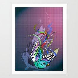 Julius (night version) Art Print