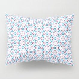 Delicate Flowers Pattern Pillow Sham