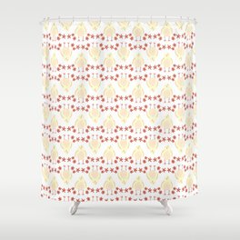 Happy Chick Shower Curtain