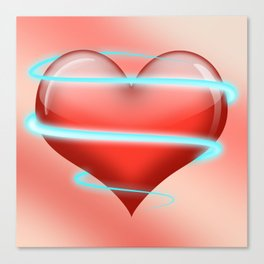 Heartbeat Canvas Print