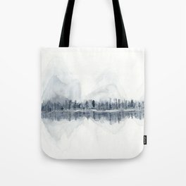 The Mountains in Winter Tote Bag
