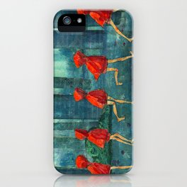 Five Little Red Riding Hoods 1 iPhone Case