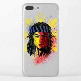 Lapu Lapu Clear iPhone Case