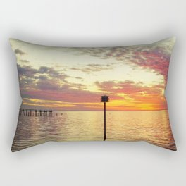 Dock of the Bay Rectangular Pillow