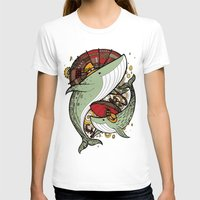 whales T-shirts featuring Whales by green penguin