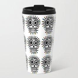 Sugar Skull - sharpie Travel Mug