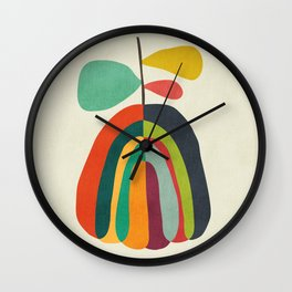 Harvest Season Wall Clock