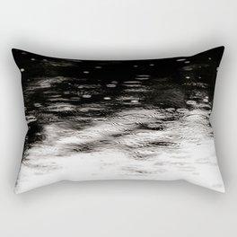 Raindrops on Water III Rectangular Pillow