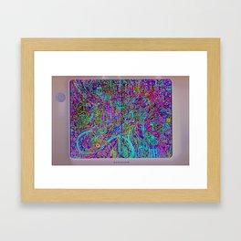 unttlddata Framed Art Print