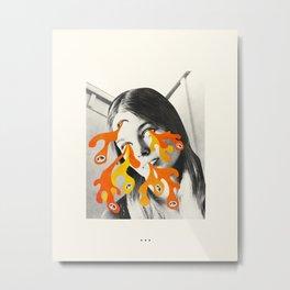 LSD Metal Print