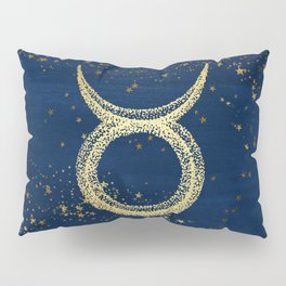 Taurus Zodiac Sign Pillow Sham
