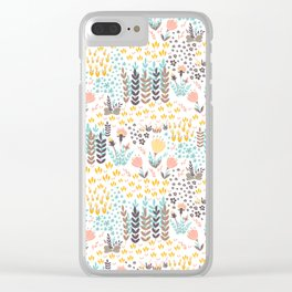 Lady's Slipper Clear iPhone Case