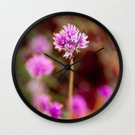 POM-PON GLOW Wall Clock