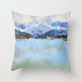 Cold Front I Throw Pillow