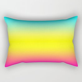 Ombre Magical Rainbow Unicorn Colors Rectangular Pillow