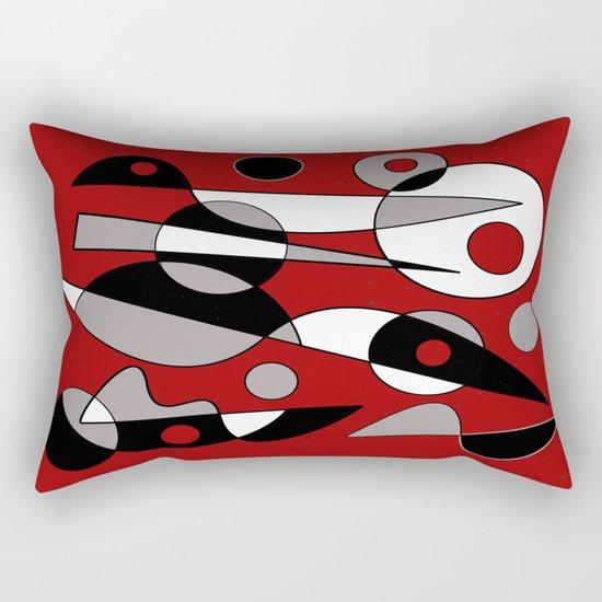 Abstract #190 Rectangular Pillow