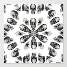 A Death Hex Canvas Print