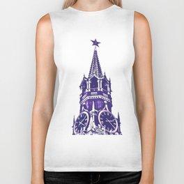Kremlin Chimes-violet Biker Tank