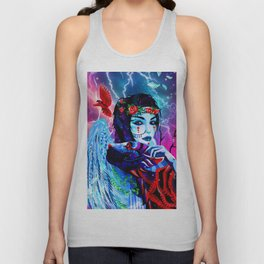The Snow Queen Unisex Tank Top