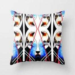 Mumma Cass - Digital Collage Throw Pillow