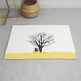 Autumn Series: Lonely Tree Rug