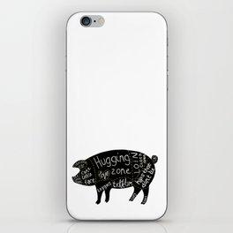 Cuts of Pig iPhone Skin