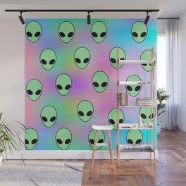 Aliens Wall Mural