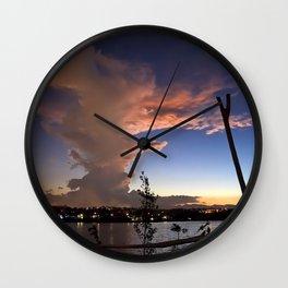 Pillar of Clouds Wall Clock