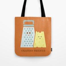Cheesy Friendship Tote Bag