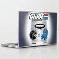 pacman Laptop & iPad Skins featuring G.I. Pacman by NOS4@2
