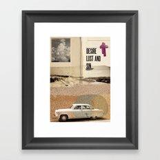 TEMPTATIONS// Framed Art Print