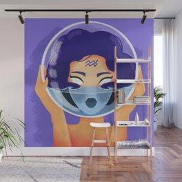 Aquarius Wall Mural