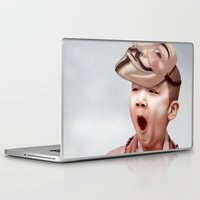 vendetta Laptop & iPad Skins featuring Robin Vendetta by Mirko Richter Grafik
