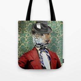 Jasper, Gentleman of the Press Tote Bag
