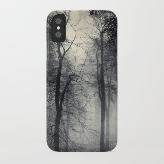 realm of shades - misty forest iPhone Case