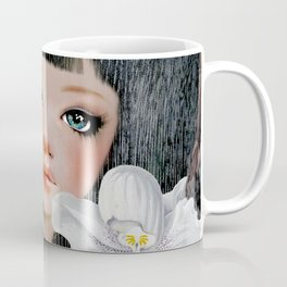 Sphynx Among Orchids Coffee Mug