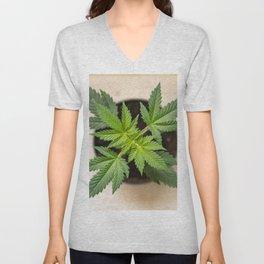Marijuana youth Unisex V-Neck