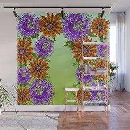 excessive flowering 01 Wall Mural