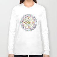 circle Long Sleeve T-shirts featuring Circle by Liz Slome