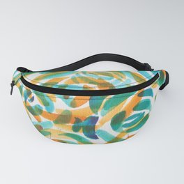 4  |  190411 Flower Abstract Watercolour Painting Fanny Pack