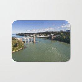 Menai bridge 1 Bath Mat